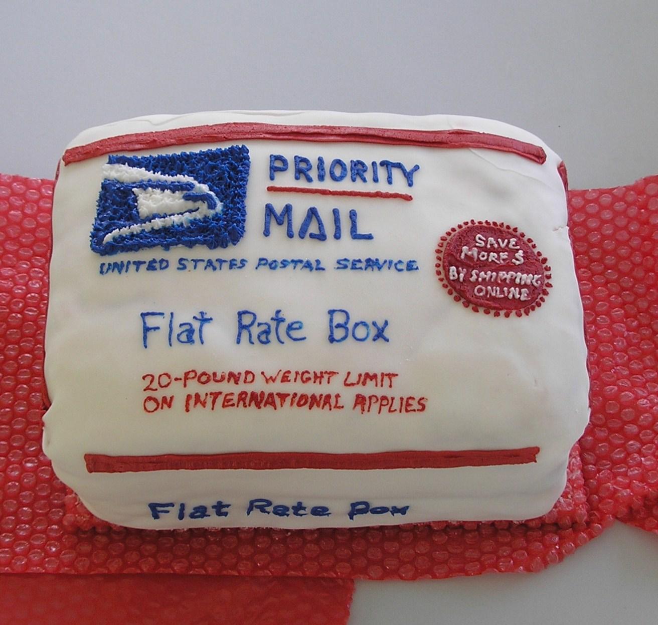 Postal Cake Boxes