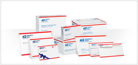 Prepaid Forever Priority Mail Flat-Rate packaging | Your Postal Blog