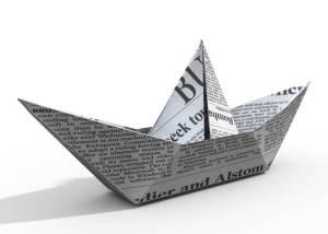 Print media sail