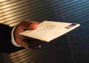 Bringing personal letters