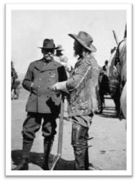 Prince Albert with Buffalo Bill in 1913