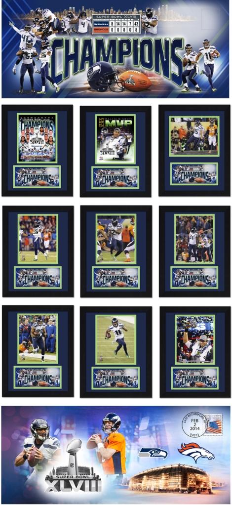 Seahawks Superbowl memorabilia