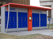 The Postal Service pioneered its own gopost parcel lockers beginning in 2012.