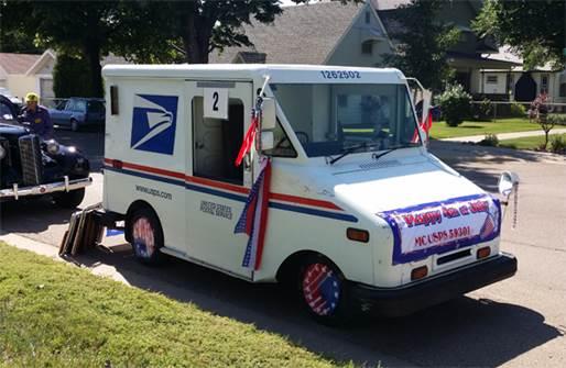 Postal pride on parade