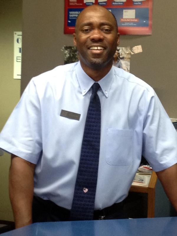 Topeka, KS, Retail Associate Richard Flowers.