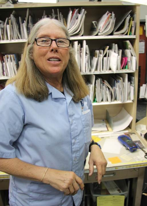Boulder, CO, City Carrier Patricia Brown.