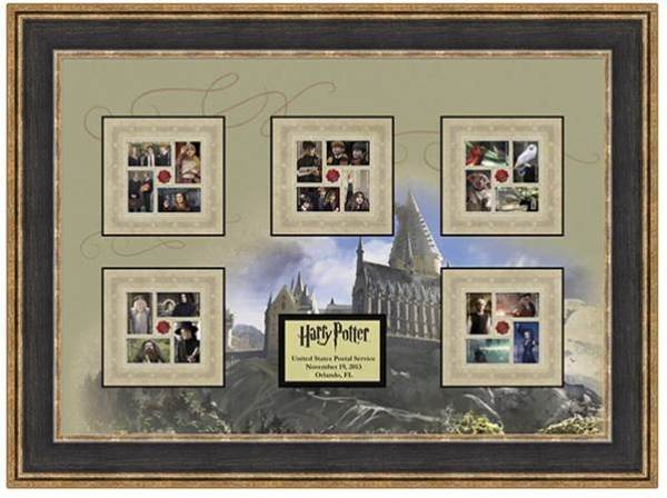 Harry Potter framed art