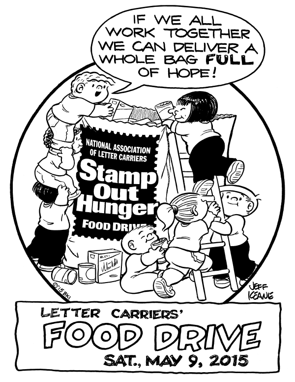 Food Drive 2015 coloring page