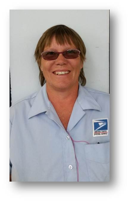 Mt. Home, ID, City Carrier Sylvia Nixon.