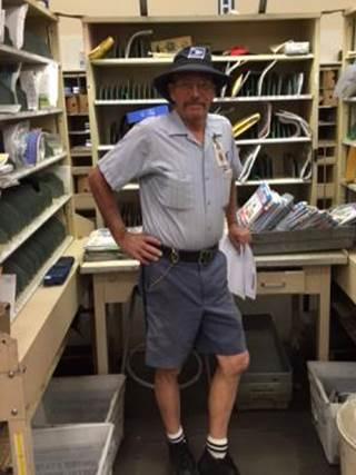 South Salt Lake City Carrier Bob Fowler