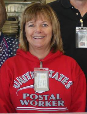 Osmond, NE, Rural Carrier Valerie Hoffman.