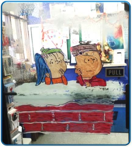 Peanuts art 1
