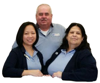 Edmonds, WA, Retail Associates Fritzie Ramos, Larry Hall and Patty Garcia saved an elderly couple from a fraud scheme.