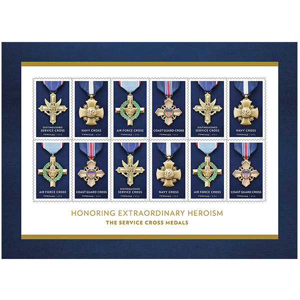 Service cross medals