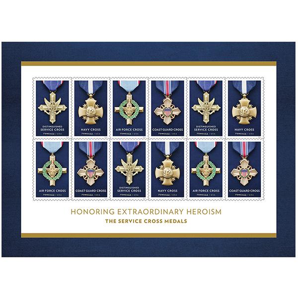 Service cross medals