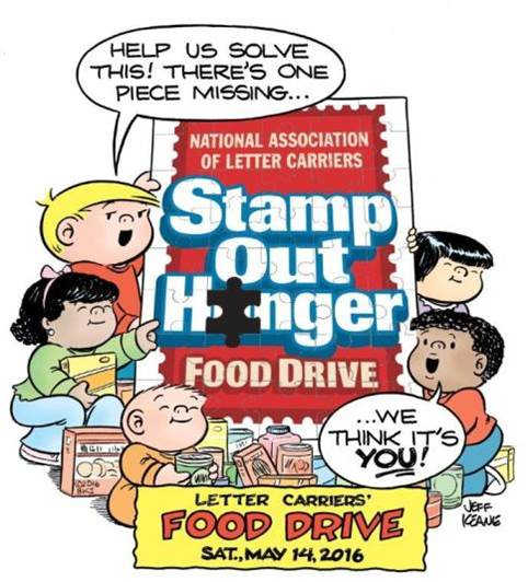 Stamp out hunger 2016