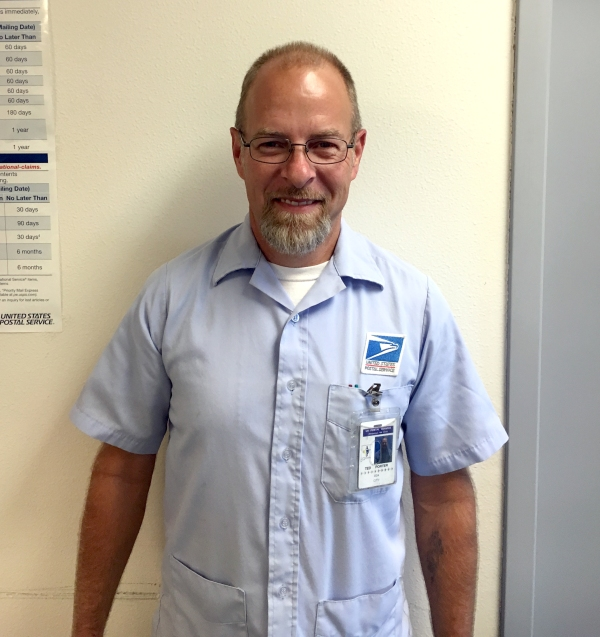 Nampa, ID, City Carrier Assistant Ted Porter