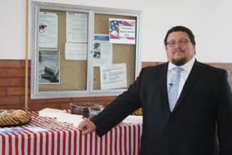 Idaho Falls Postmaster Tony Haws
