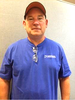 Great Bend, KS, Data Collection Technician Kevin Boese